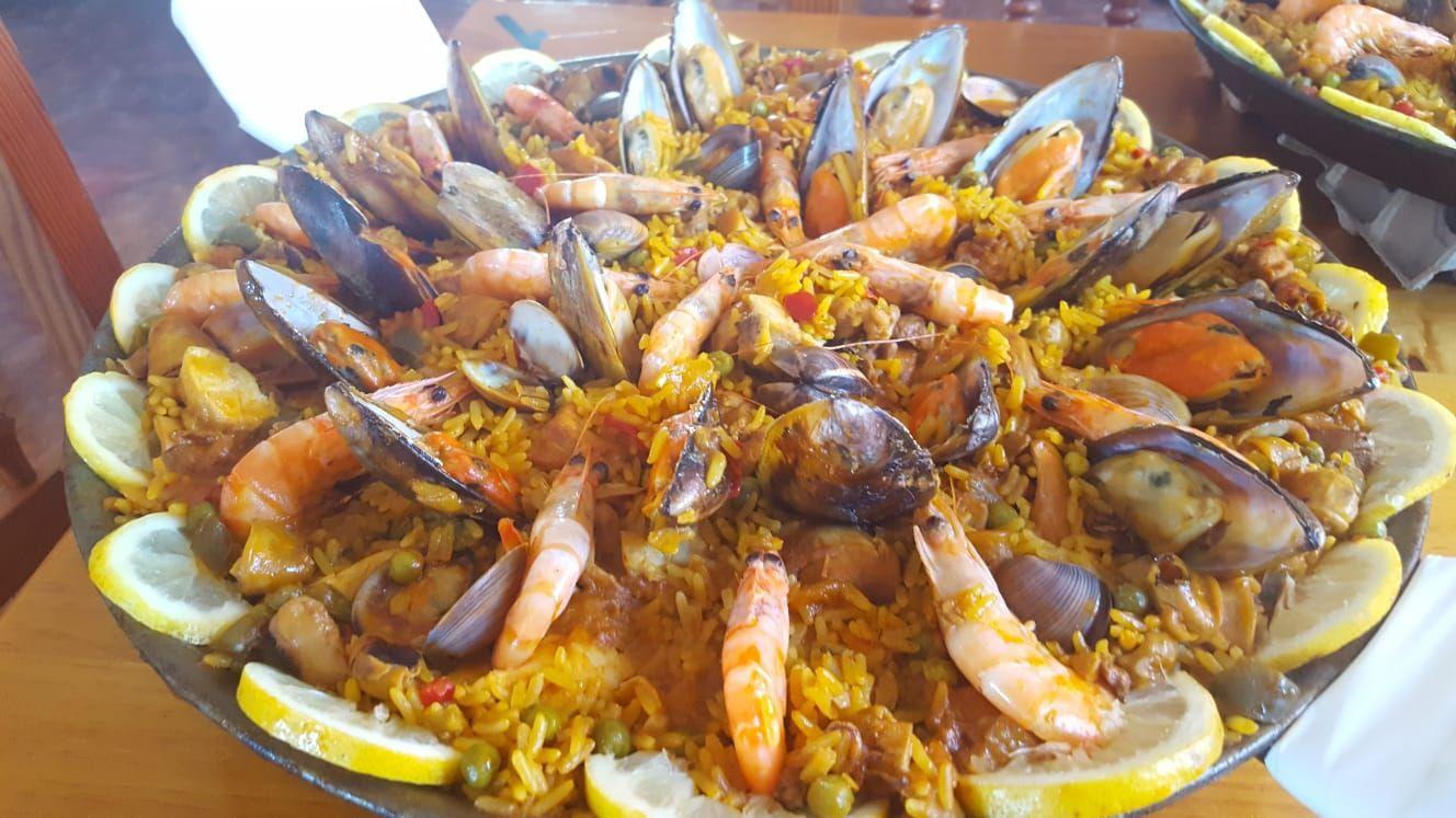 Especialidad en paellas en Granadilla de Abona