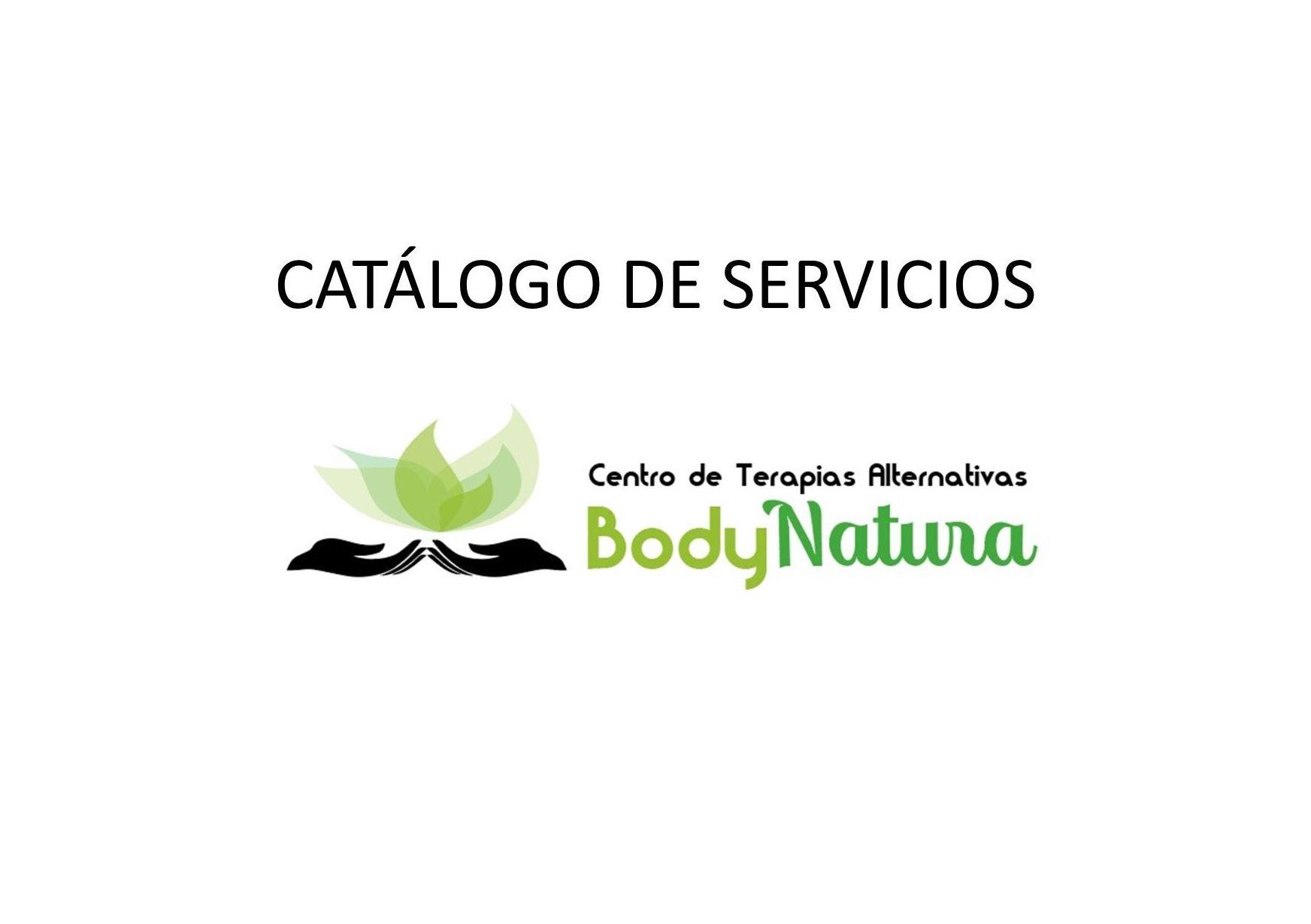 catalogo de nuestro servicios: Tratamientos y Cursos de Bodynatura