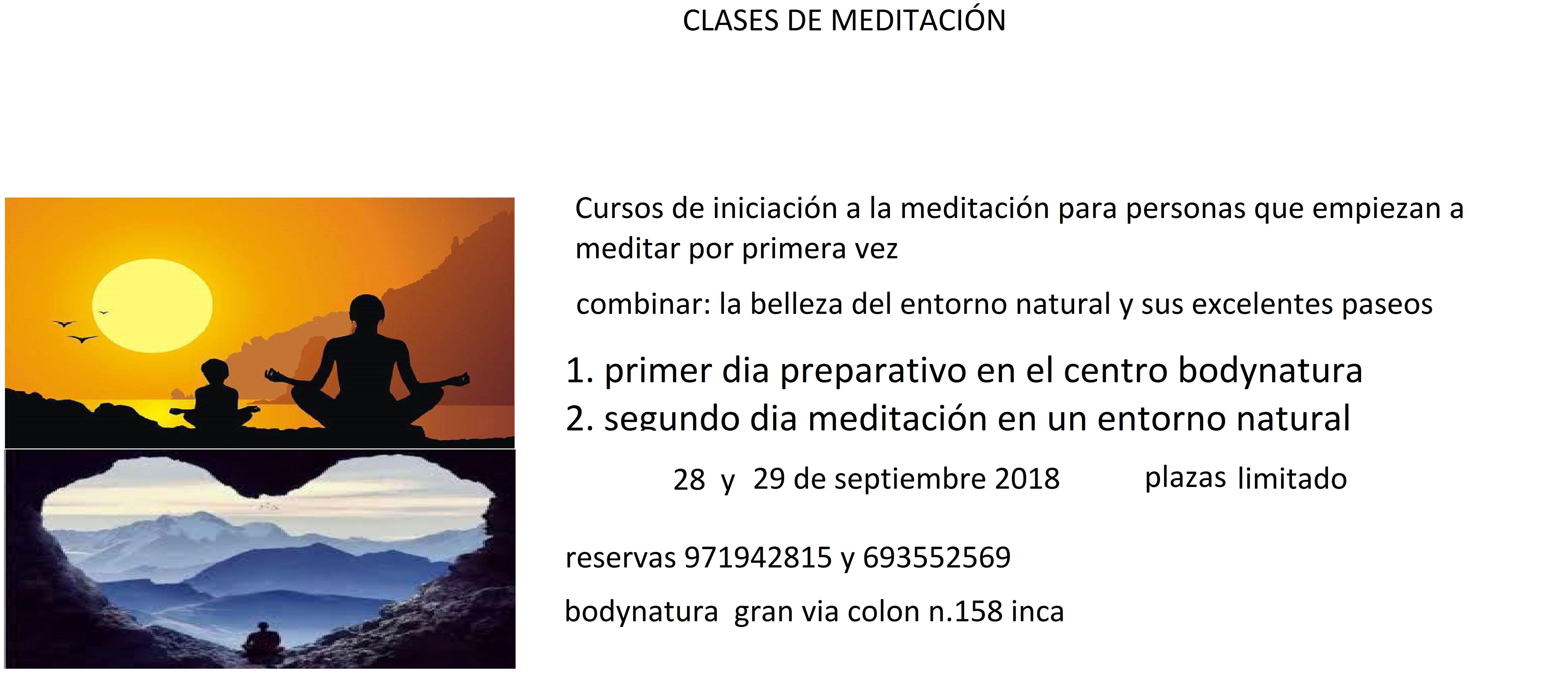 Cursos de iniciación a la meditación para personas que empiezan a meditar por primera vez
