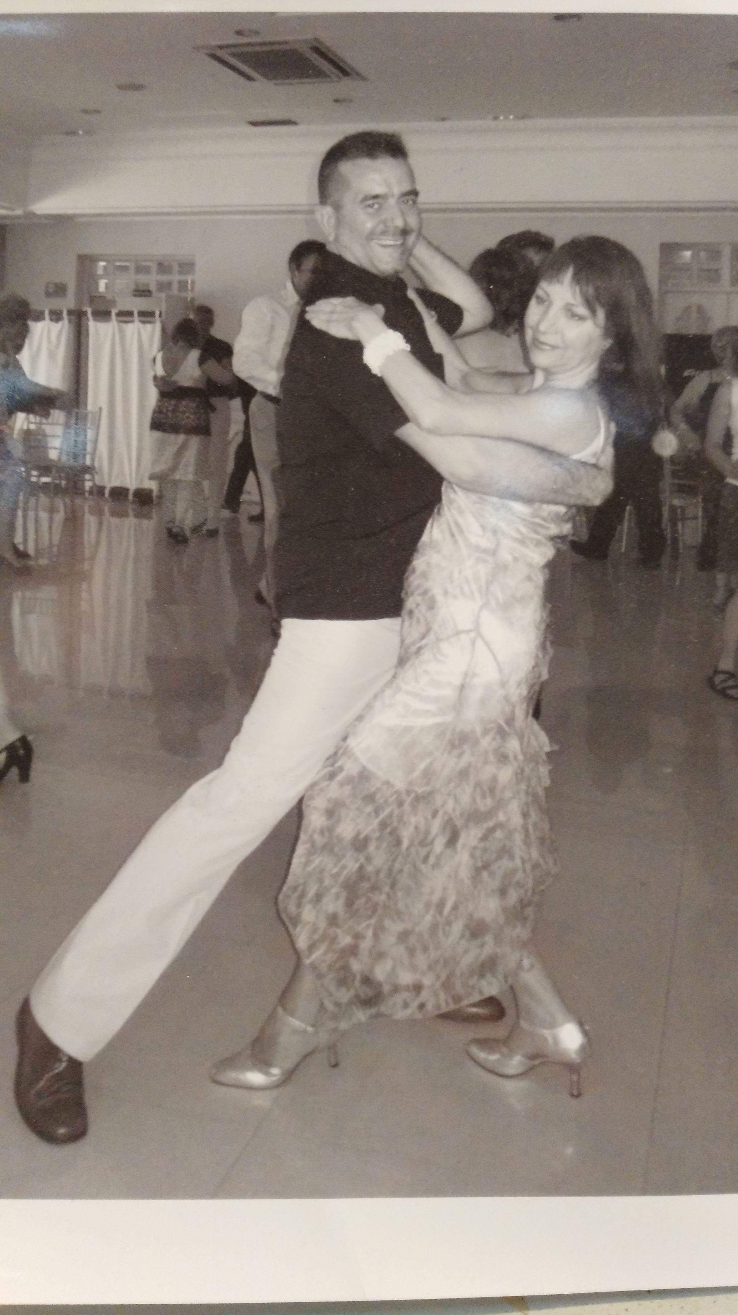 Profesores de baile de salón Irene y José
