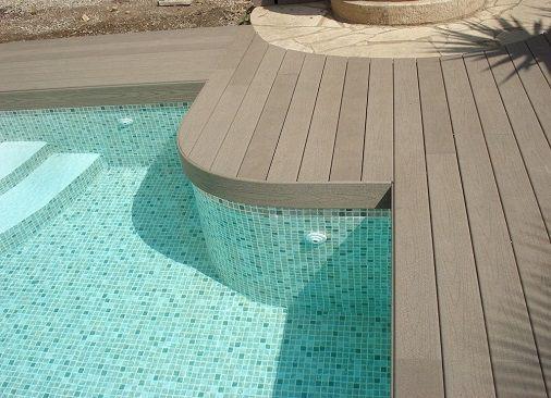 Tarimas de madera para piscinas en Madrid