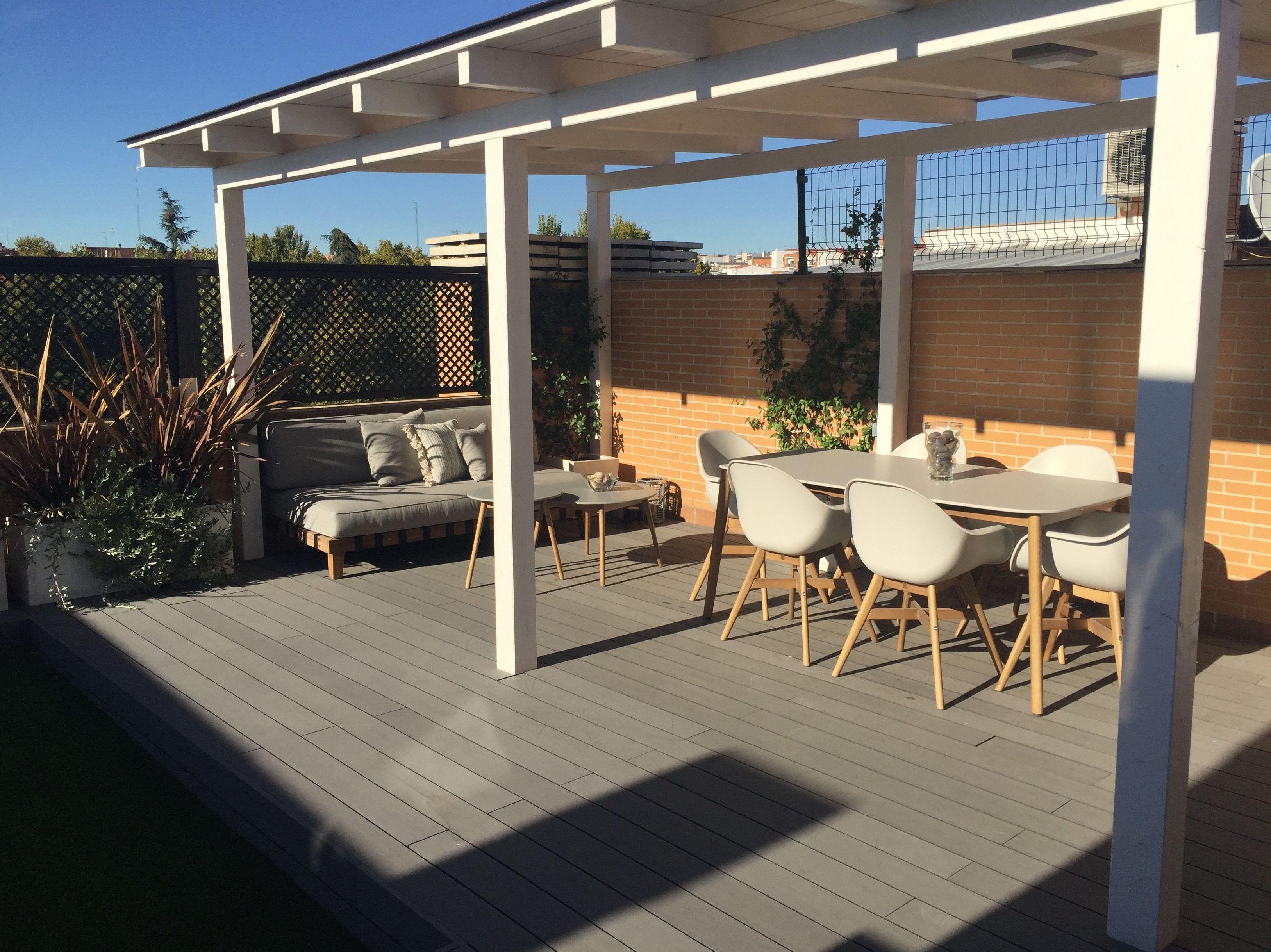 Diseño y reforma de espacios exteriores, terrazas y jardines en Madrid