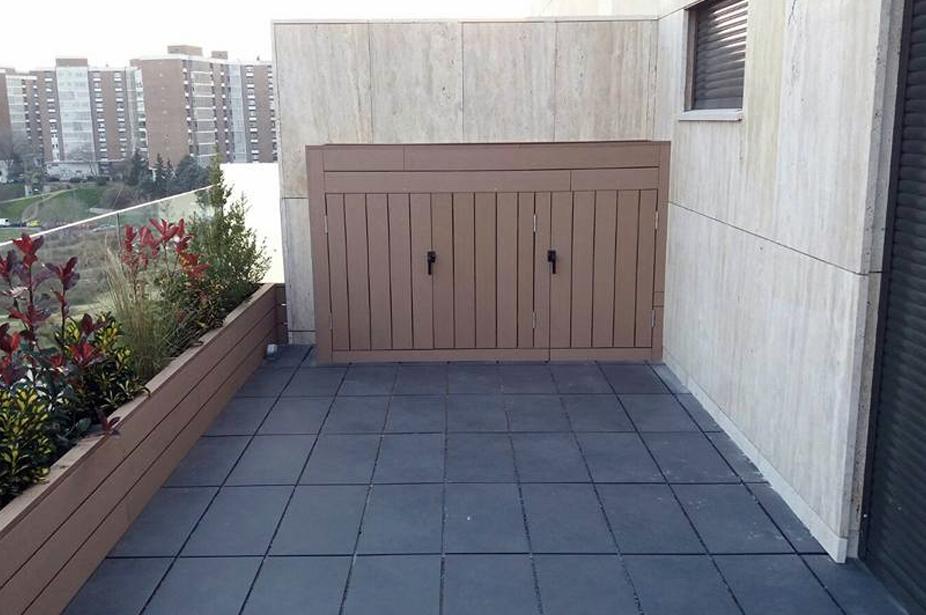 Muebles exterior en Madrid