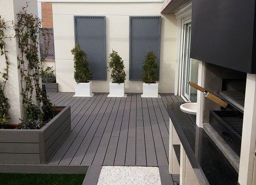 Instalación de tarimas de exterior en Madrid