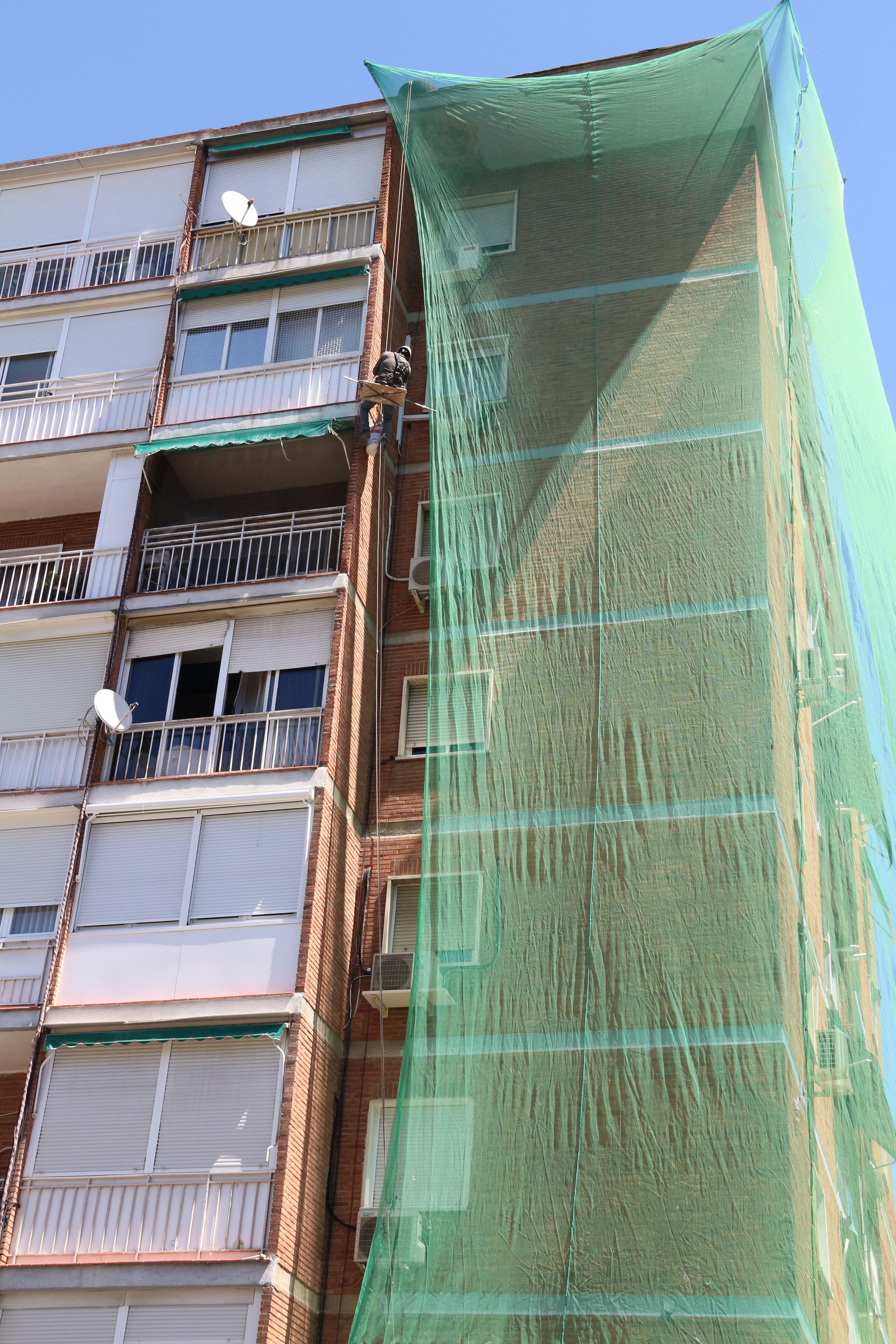 Renovación de edificos antiguos en Madrid