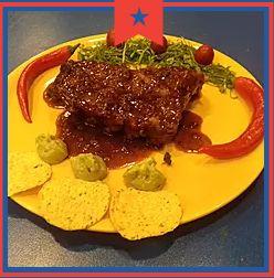 Costillas BBQ: Carta de Catrina Mexican Grill