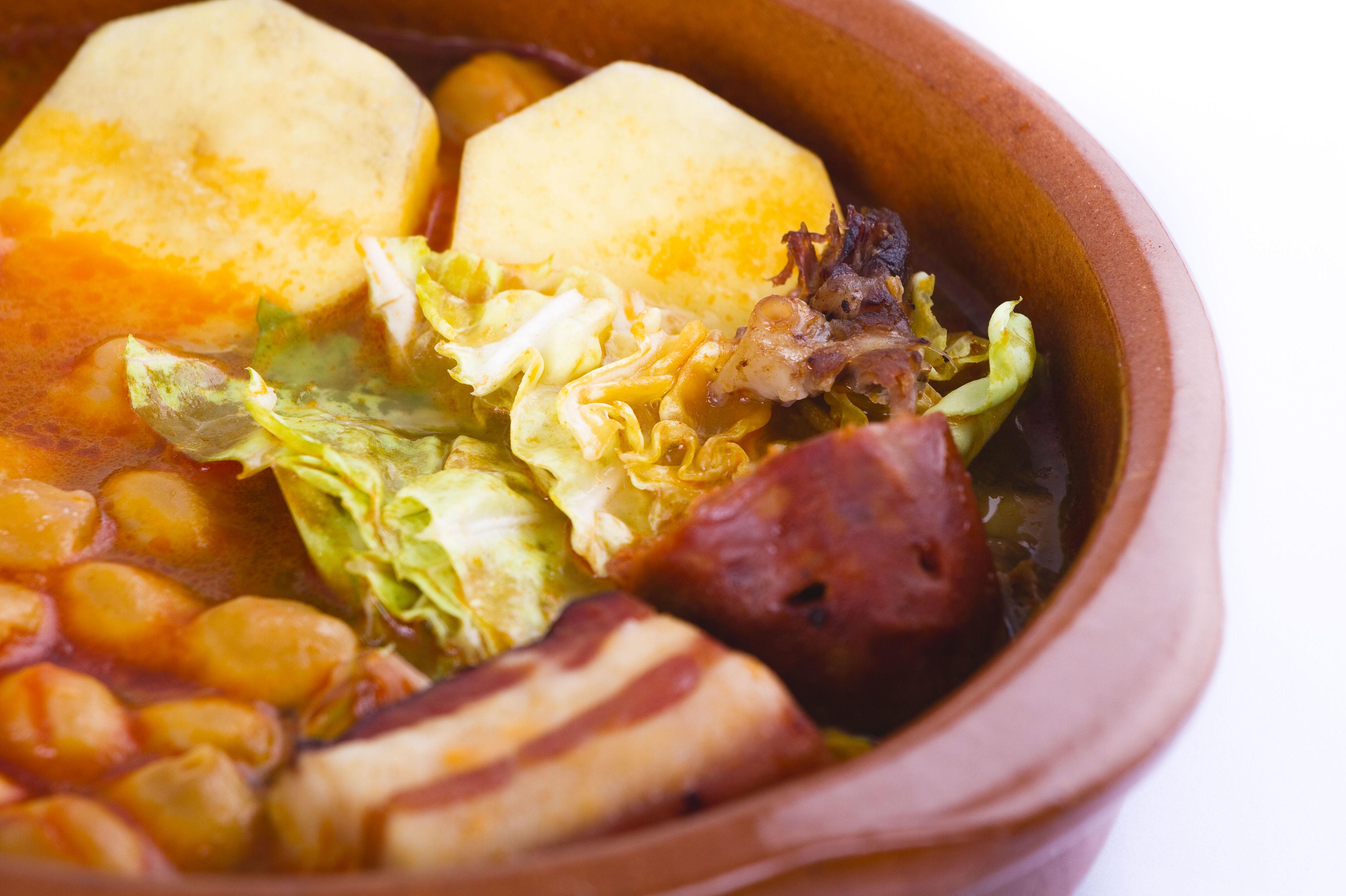 Menú del día en el restaurante A Cañiza, Villaverde, Madrid