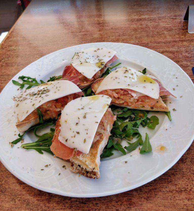 Bruschette: Nuestra Carta de Restaurante Pizzeria Don Camilo