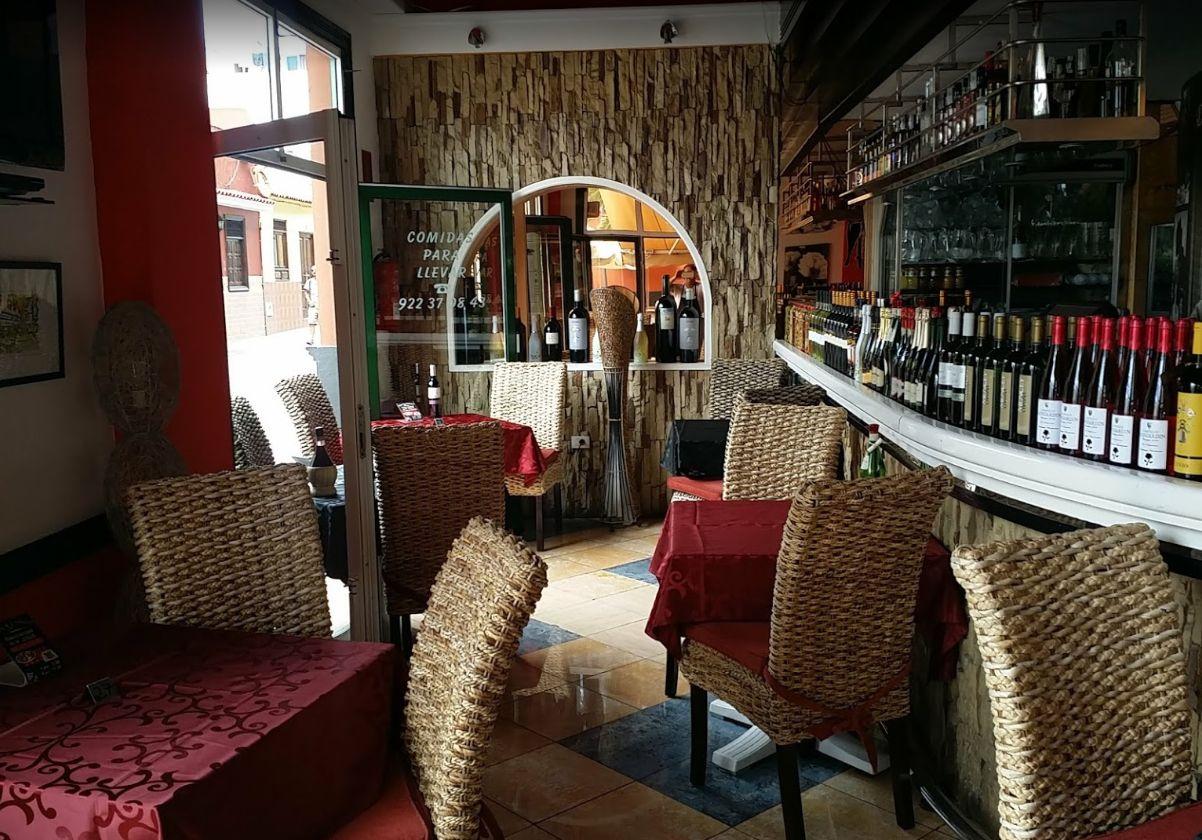 Cocina italiana en Tenerife