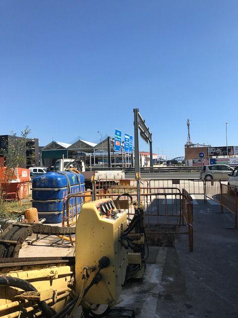 Perforaciones de geotermia en Málaga