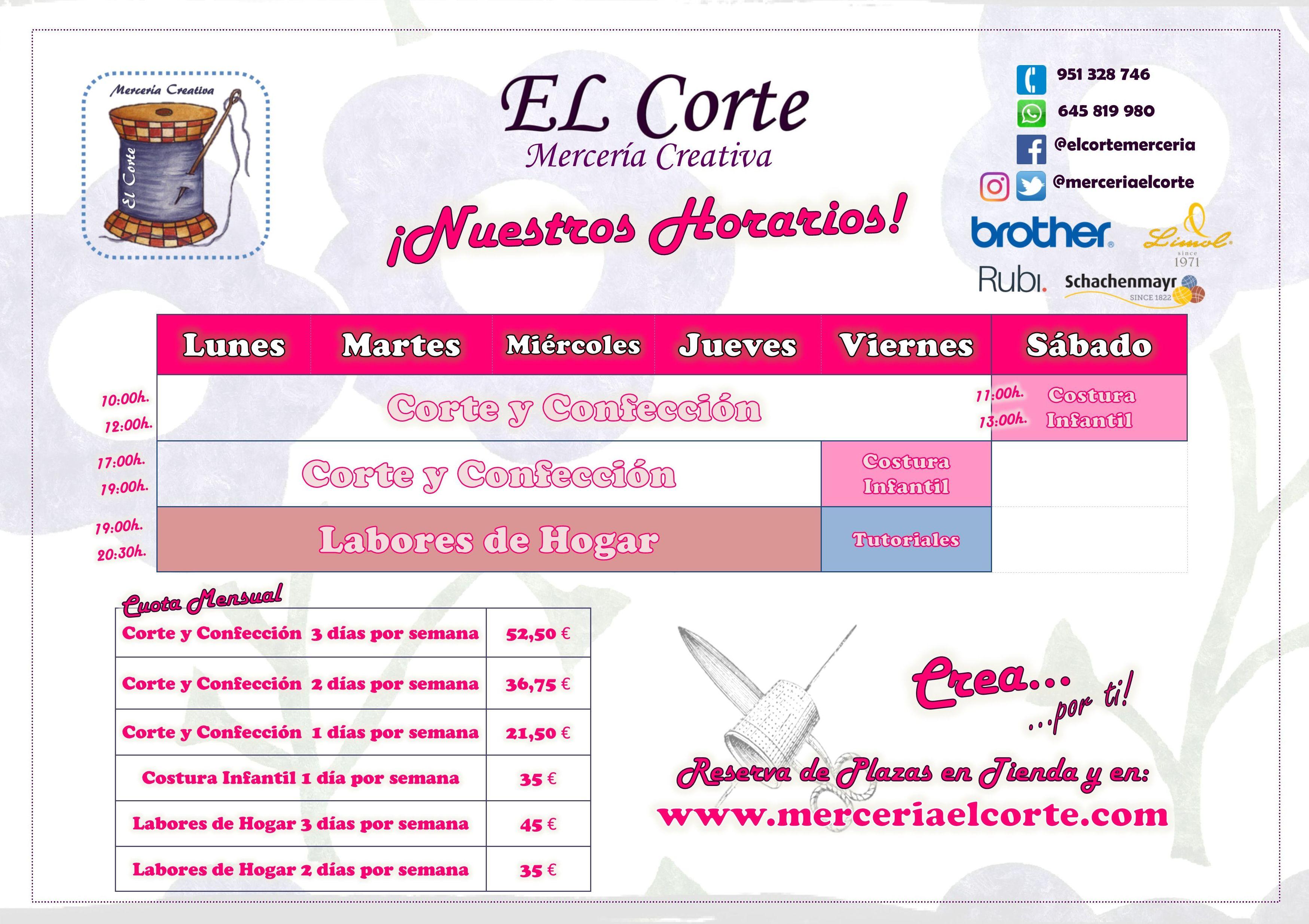 CLASES DE CORTE Y CONFECCION