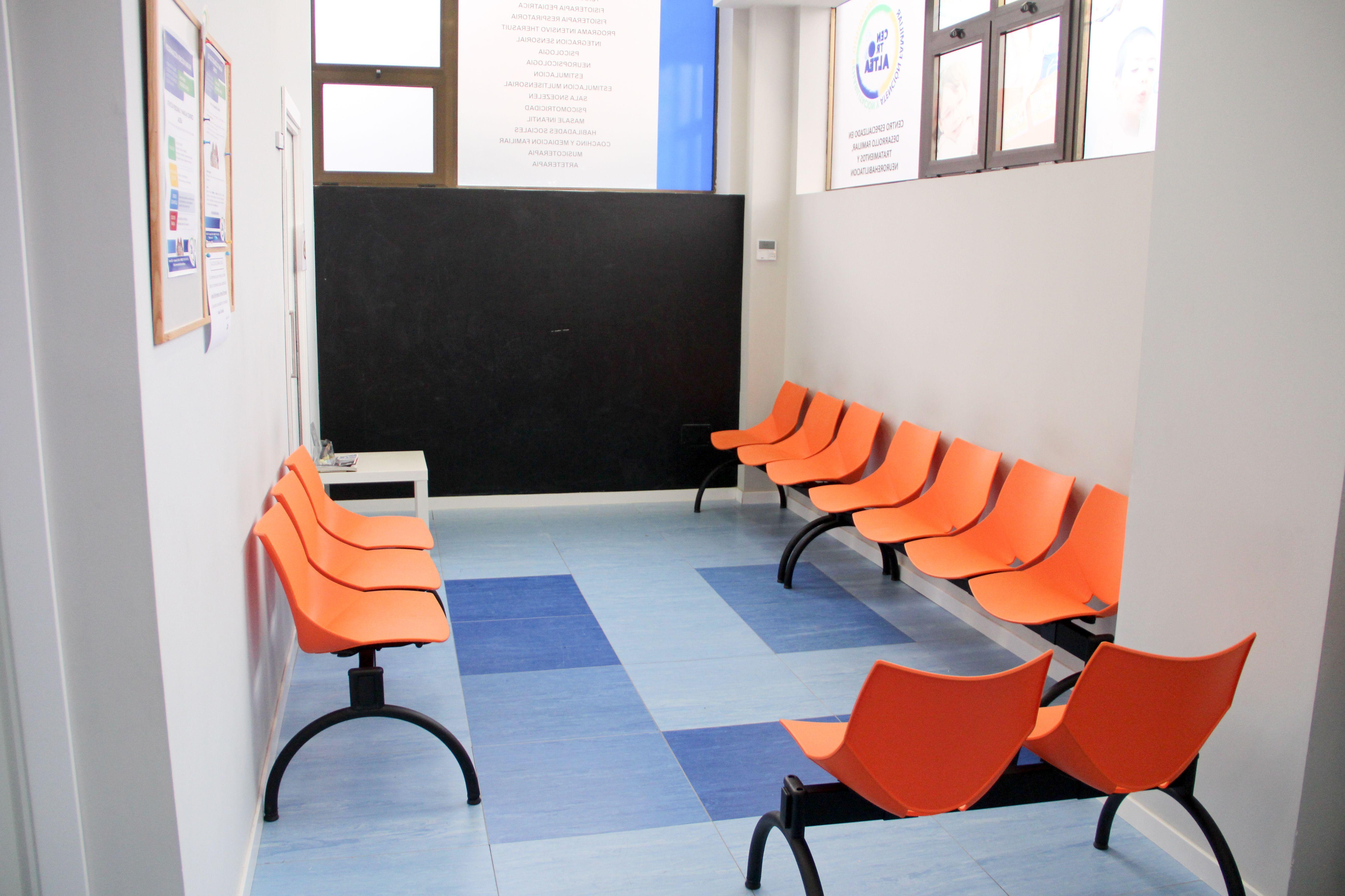 Sala de espera de nuestro centro