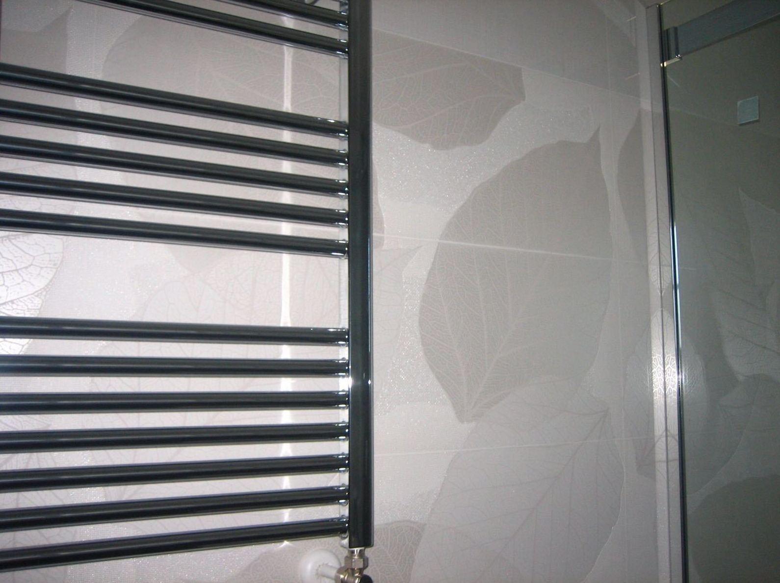 Toallero calefacción para baño