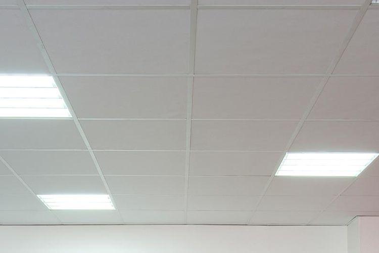 Placas de yeso laminado para techos