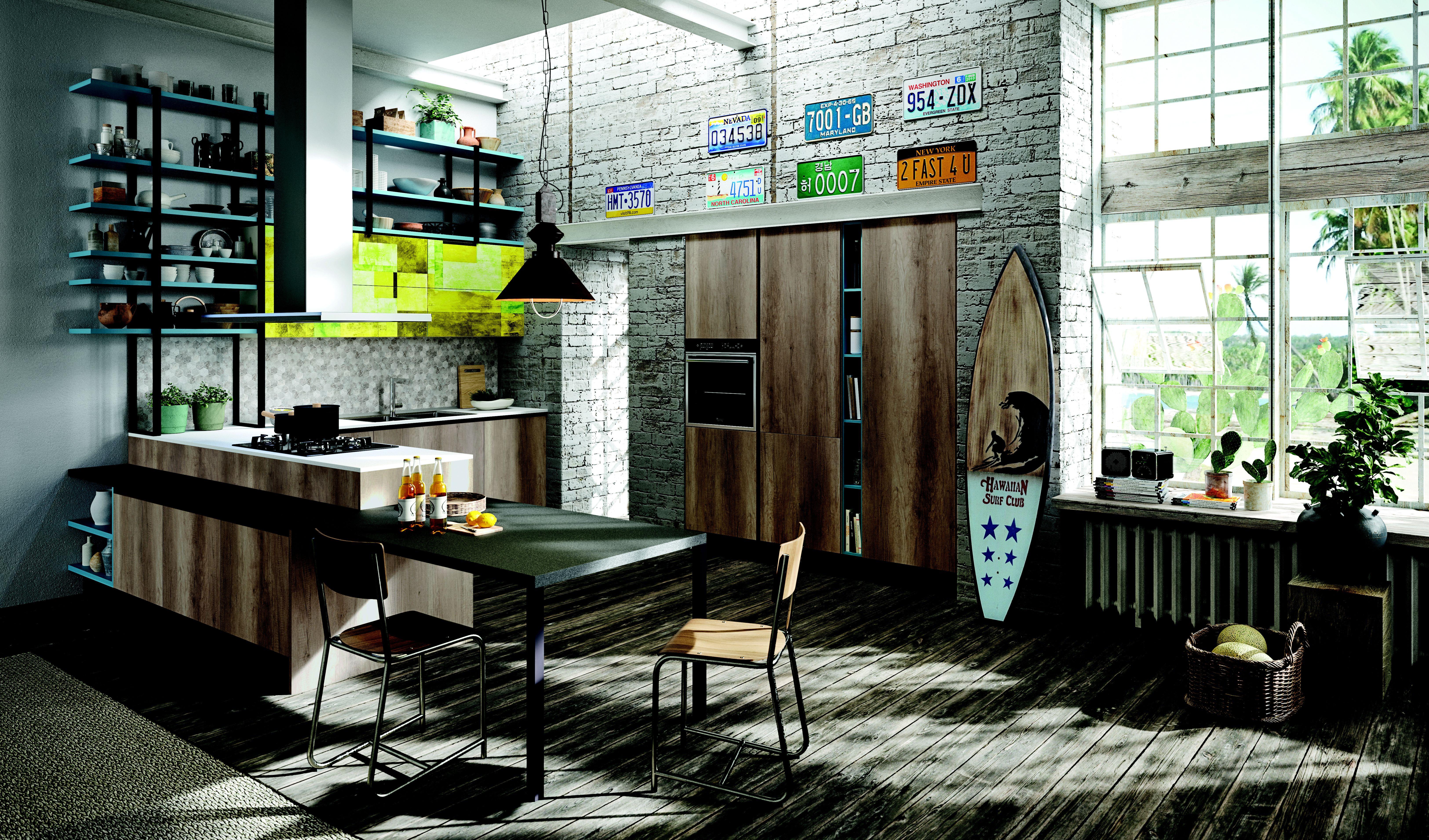 Modelo Mia: Productos y Servicios de Nexo Cocinas