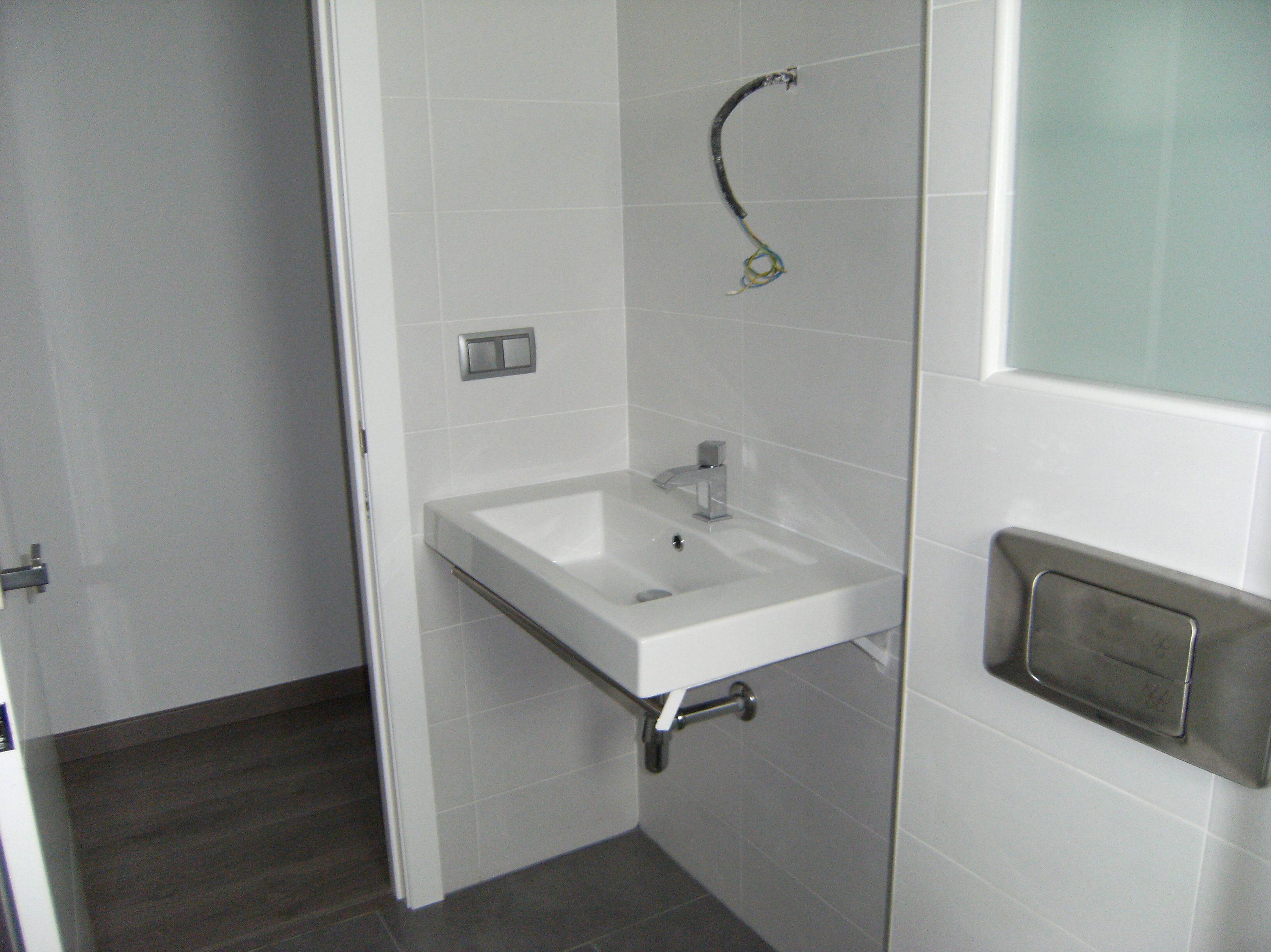 Obras de remodelación de baños