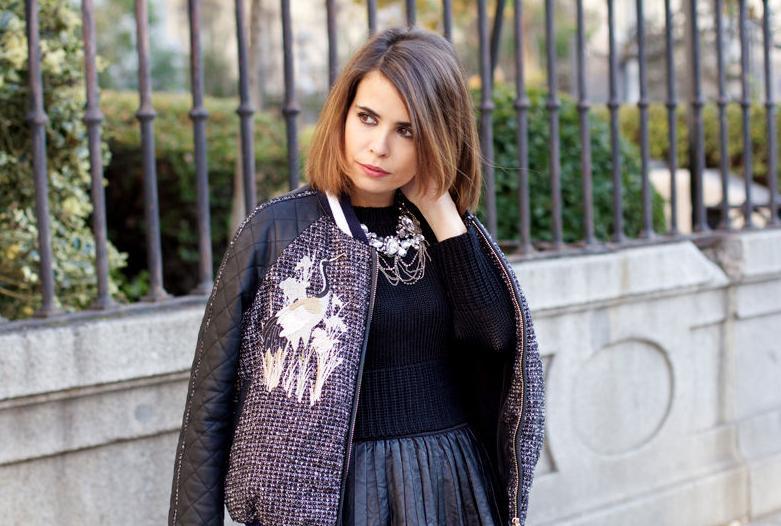 Sara, del blog de moda Collage Vintage, confía en Llongueras Mirasierra para cuidar su cabello