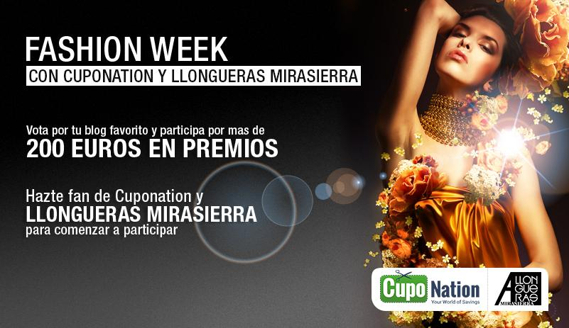 Premios Blogger Fashion Week: BLOG de LLONGUERAS MIRASIERRA }}