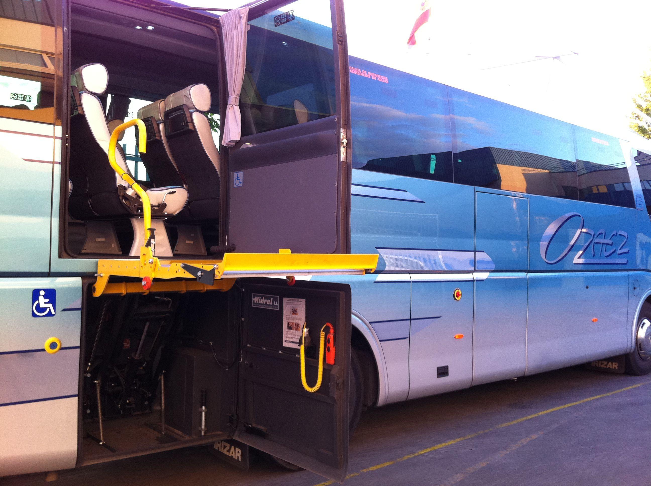 Servicios para agencias: Servicios de Autocares Ozaez