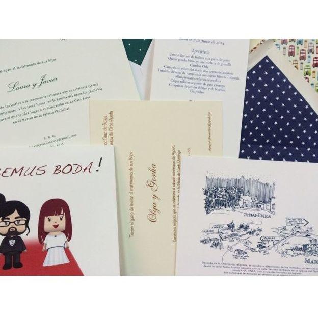 Imprenta de invitaciones de boda en Madrid