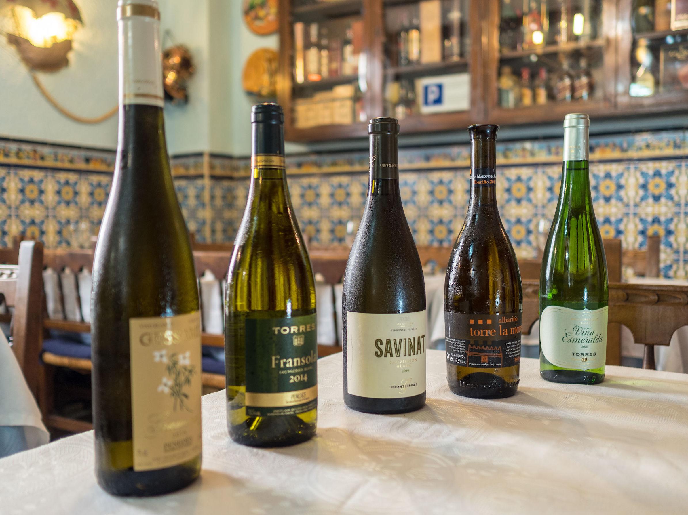 Nuestra selección de vinos