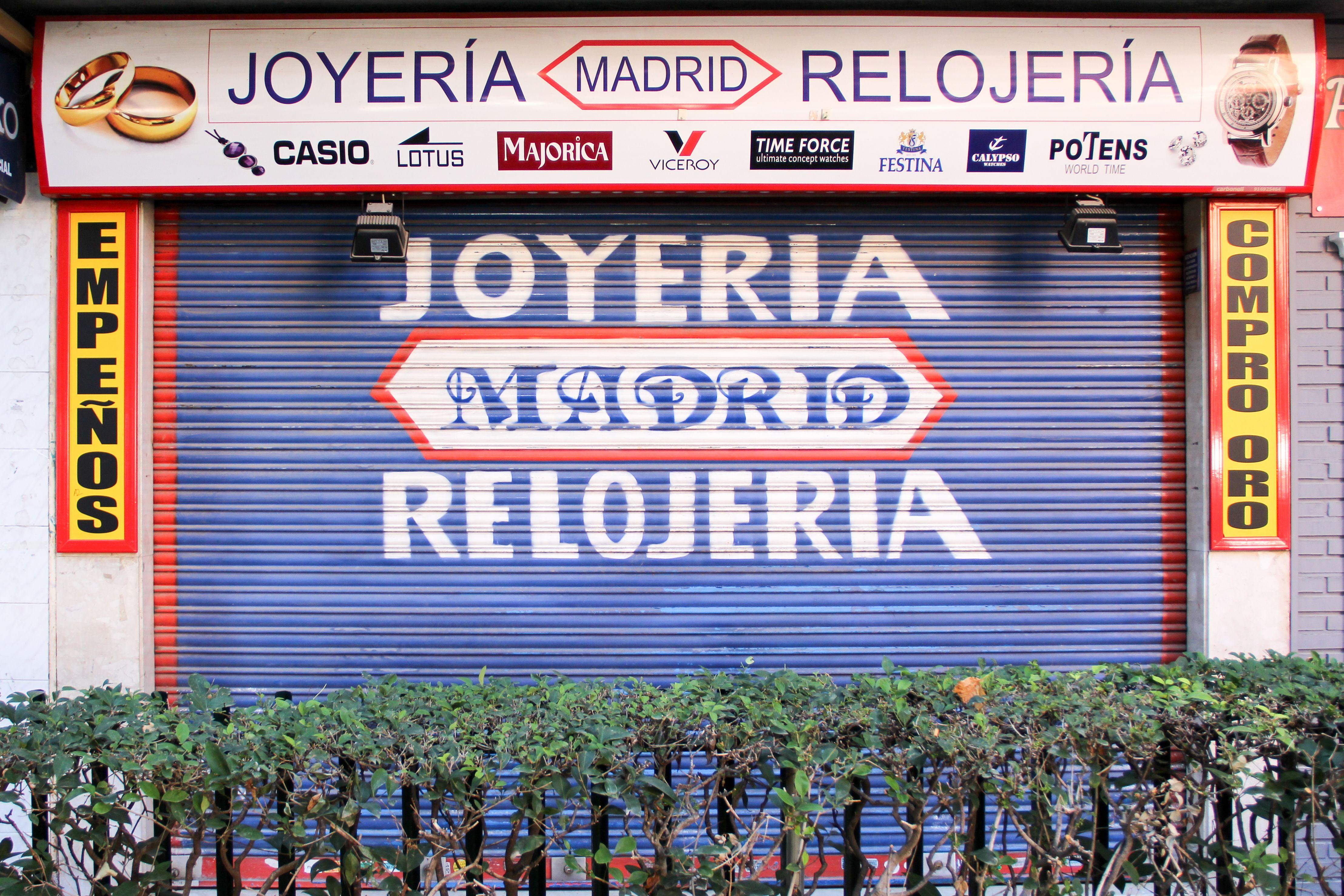 Joyería Madrid