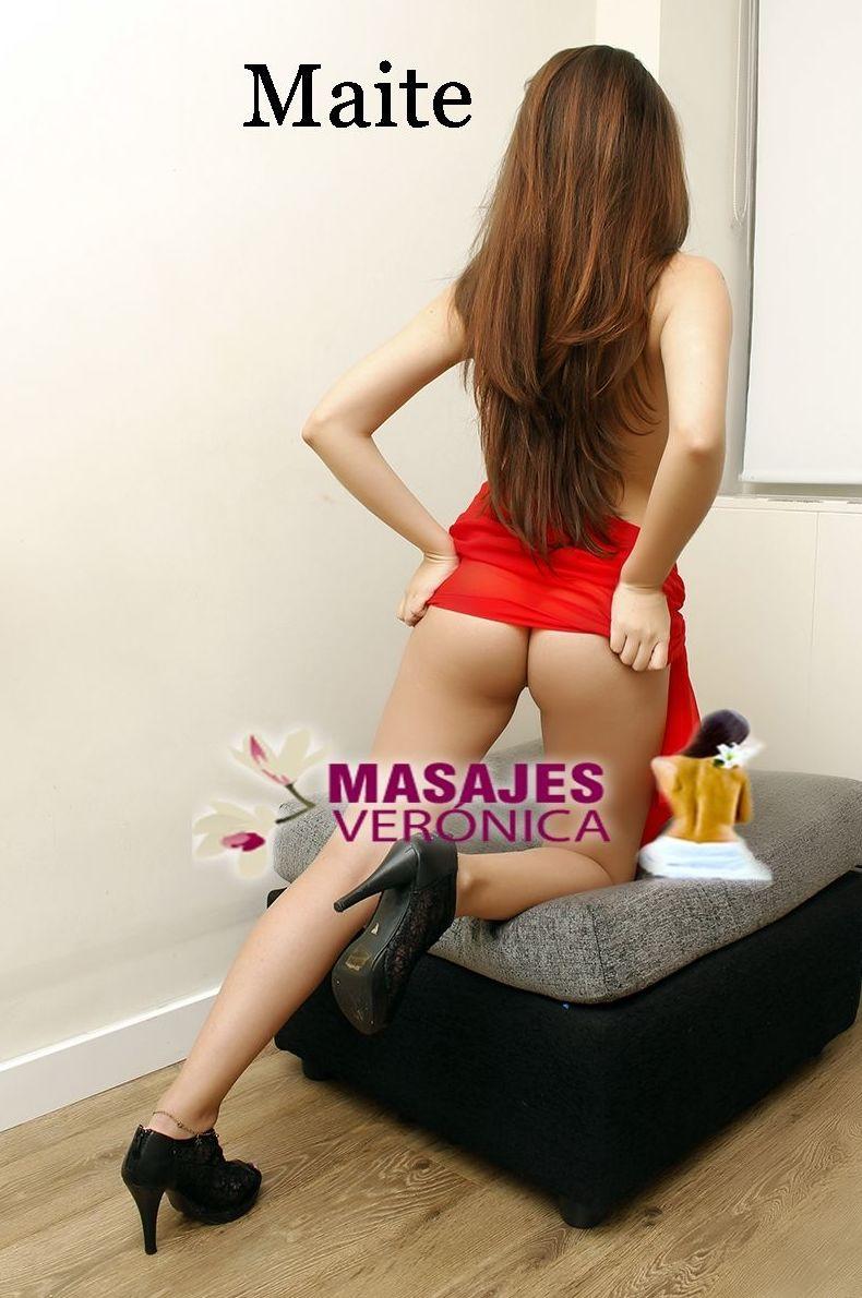 MAITE LATINA de 19 añitos iniciando como masajista erótica