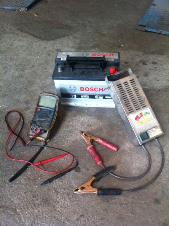 Comprobación y carga de bateria Soto del Real