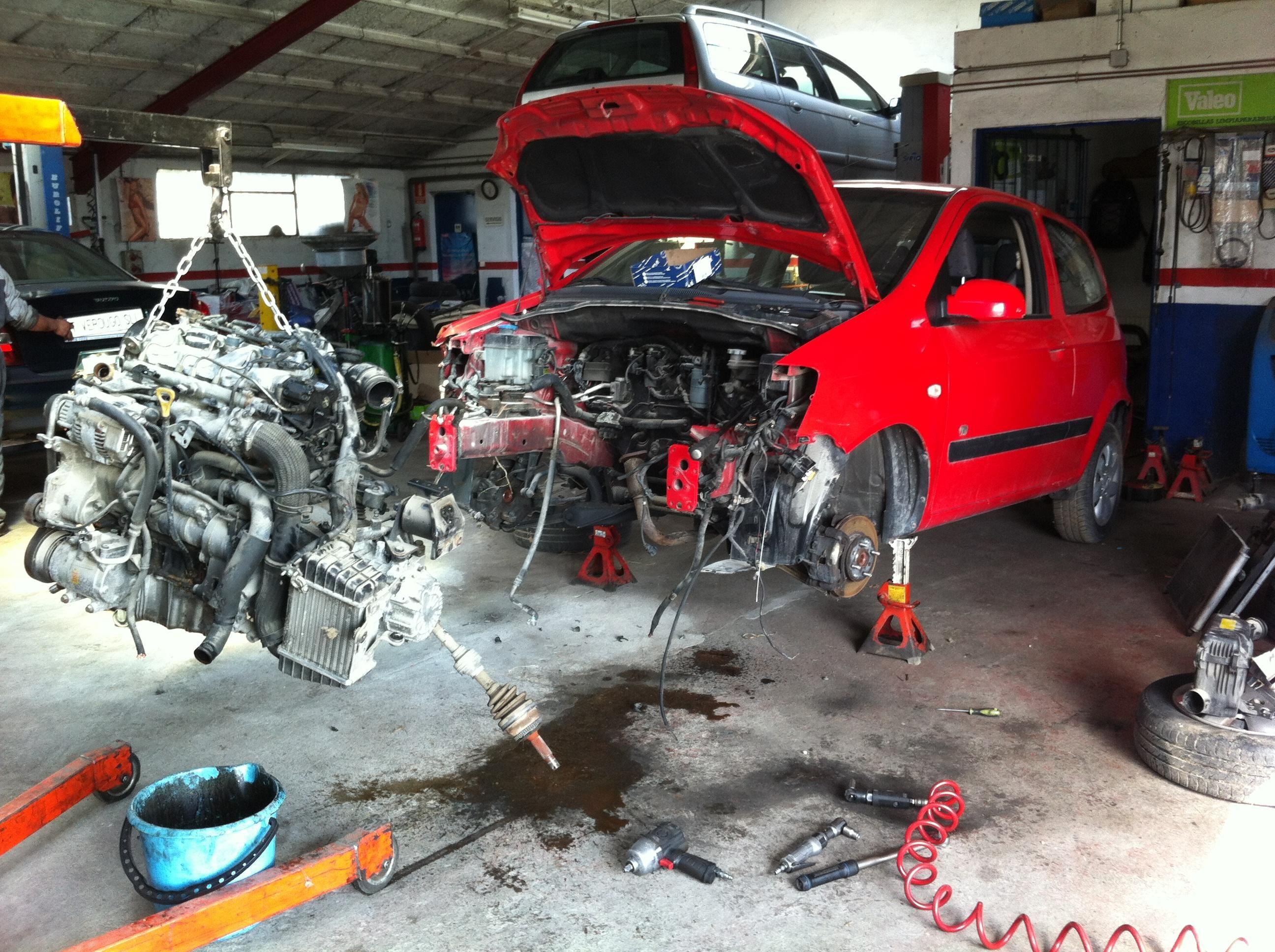 Desmontar motor Soto del Real