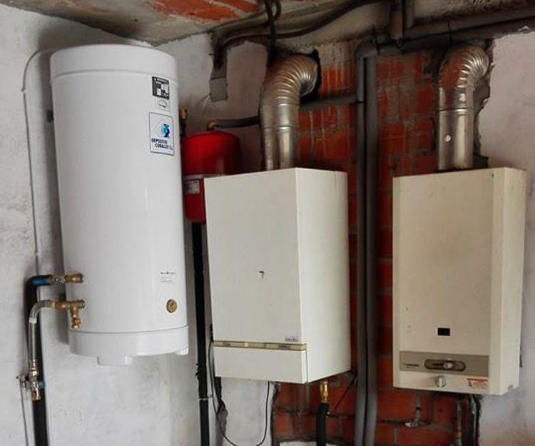 Instalación de calentadores y calderas en A Coruña