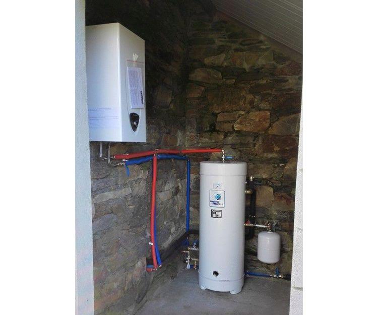 Trabajos de fontanería y calefacción en A Coruña