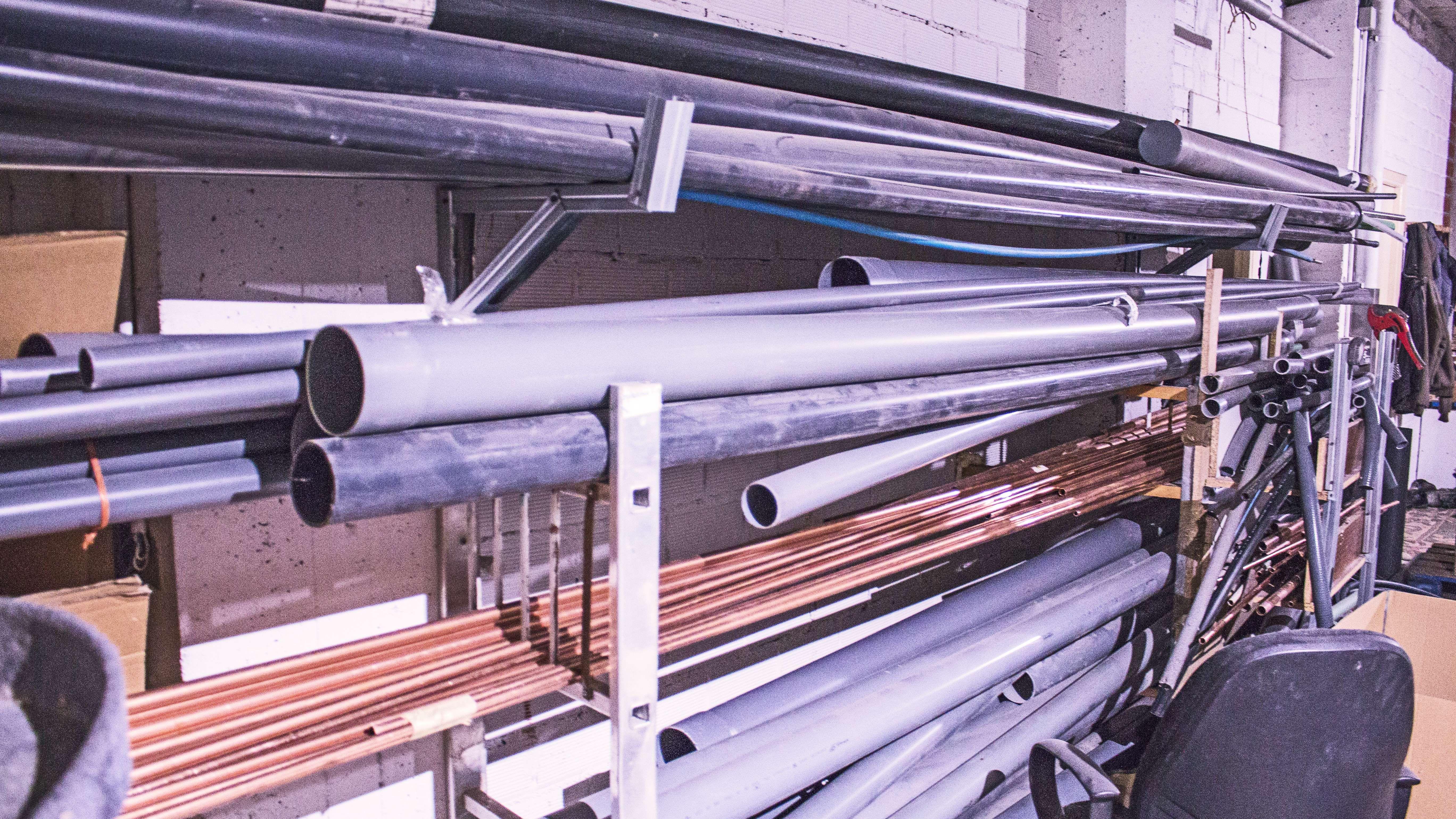 Tubos para instalaciones de fontanería en Ferrol