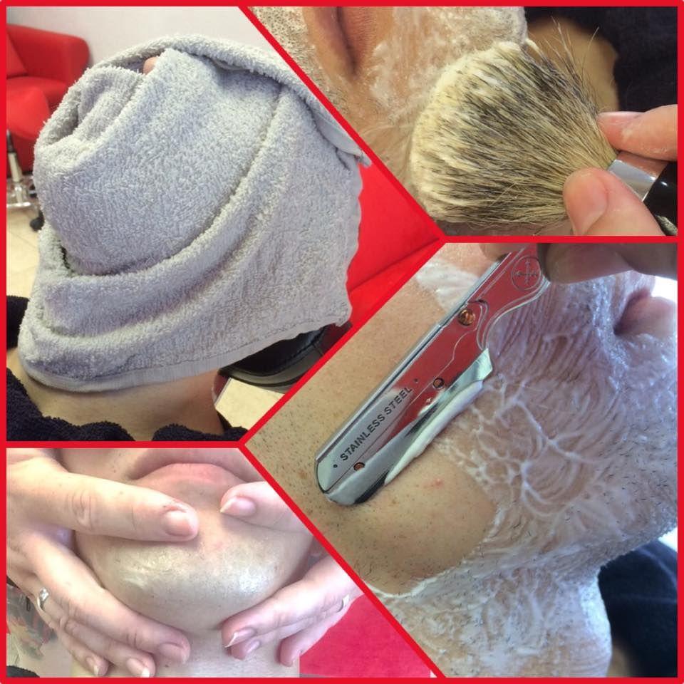 Afeitado a navaja: Servicios de Divinas Tijeras