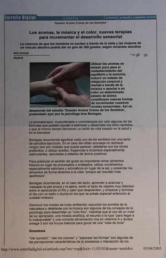 Artículo de la Agencia EFE