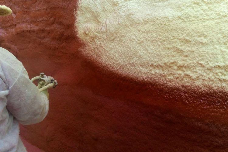 Aislamiento de espuma de poliuretano