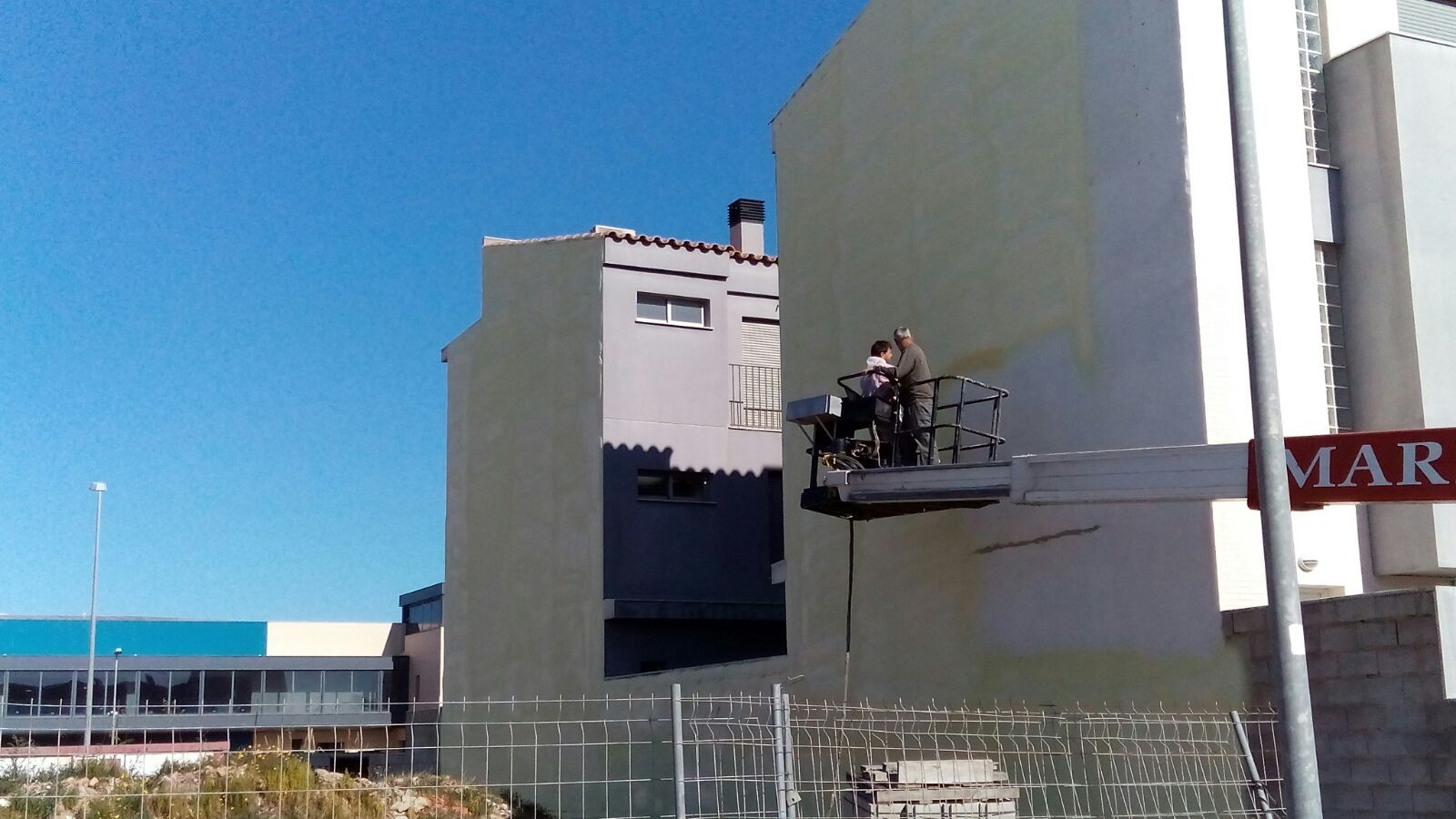 Aislamiento de fachadas con espuma de poliuretano