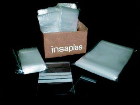 Bolsas transparentes: Catálogo de Insaplas, S.A.