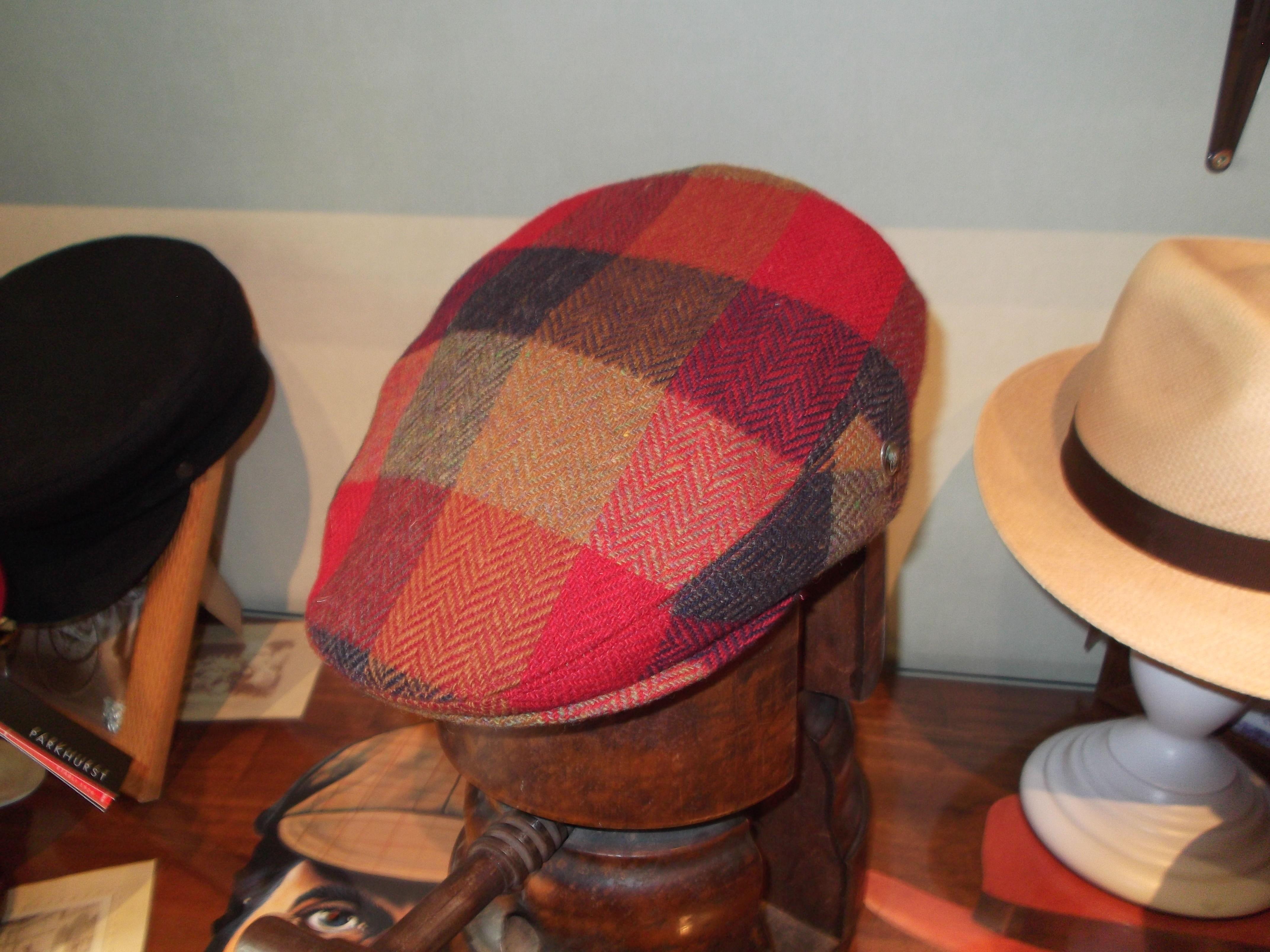 Gorra de Harris Tweed. Tallas de la 55 a la 61.