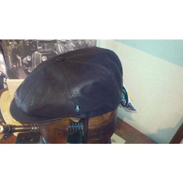 Gorra Botón piel marrón: Catálogo de Sombrerería Citysport