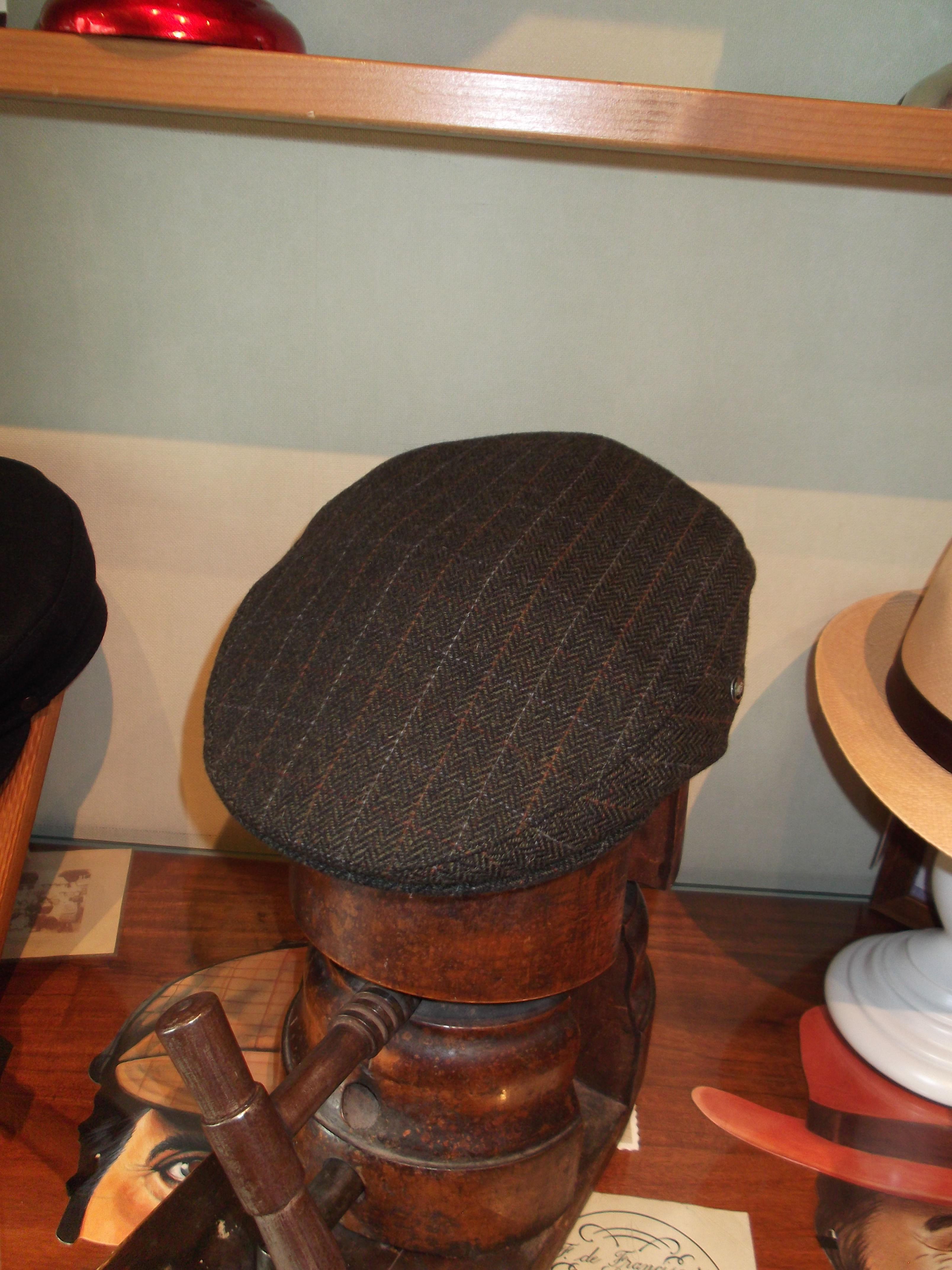 Gorra lana 100%. Tallas de la 55 a la 61.: Catálogo de Sombrerería Citysport