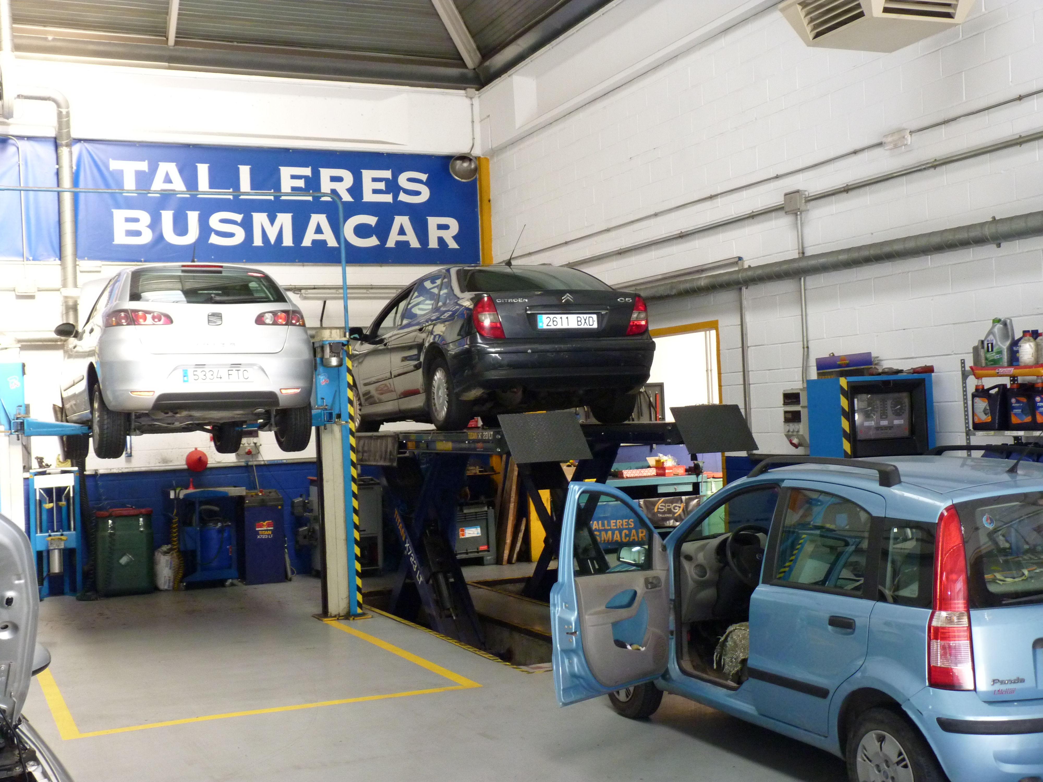 Motor: Reparaciones  de Talleres Busmacar