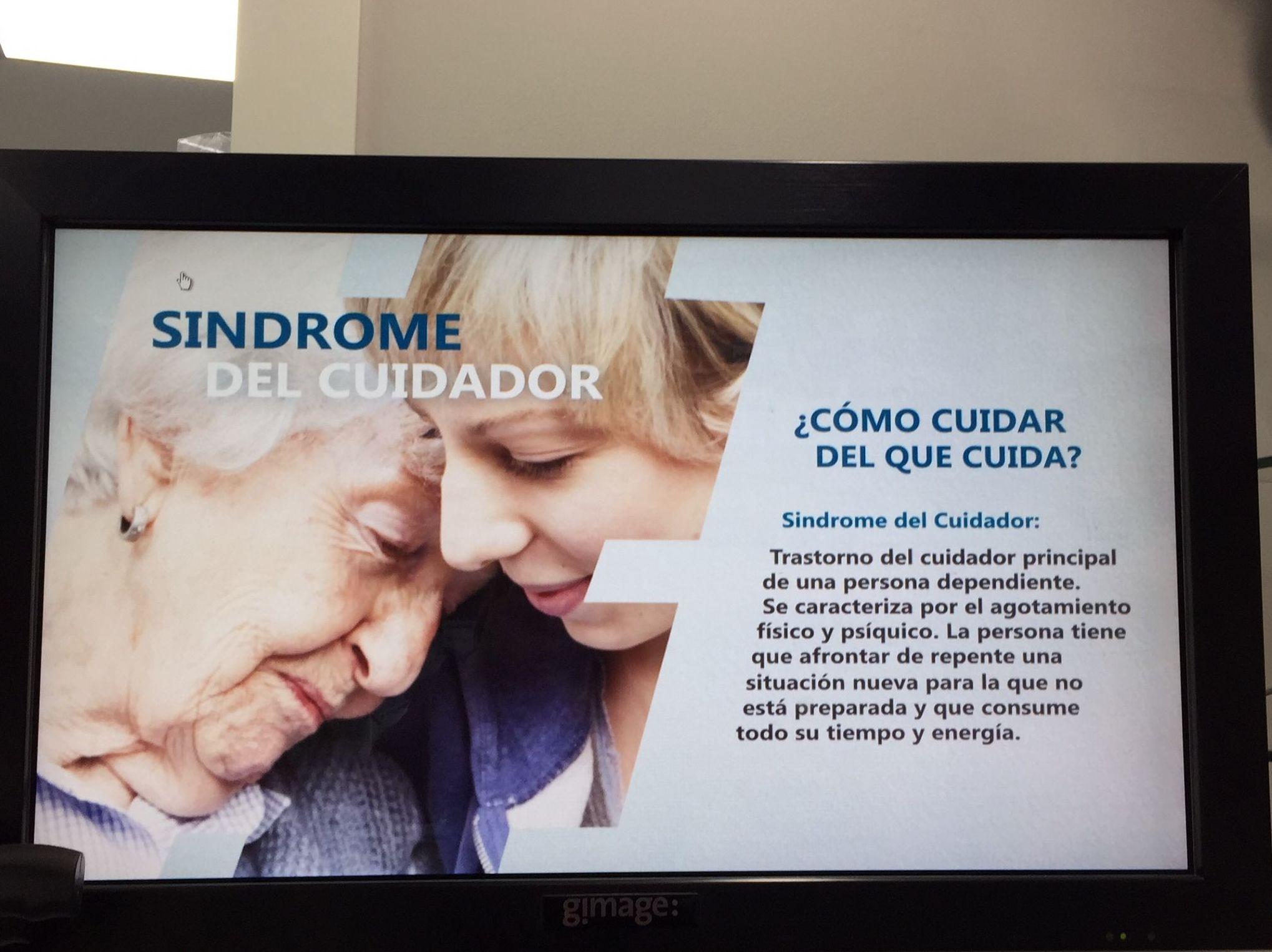 Síndrome del cuidador en Portazgo Madrid
