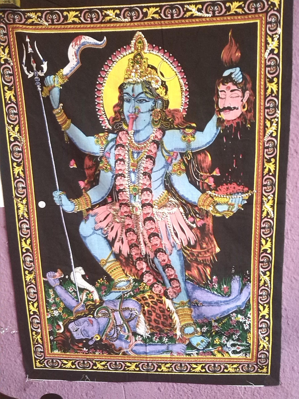 La diosa kali destructora de la maldad y los demonios! proteccion !  7,50€