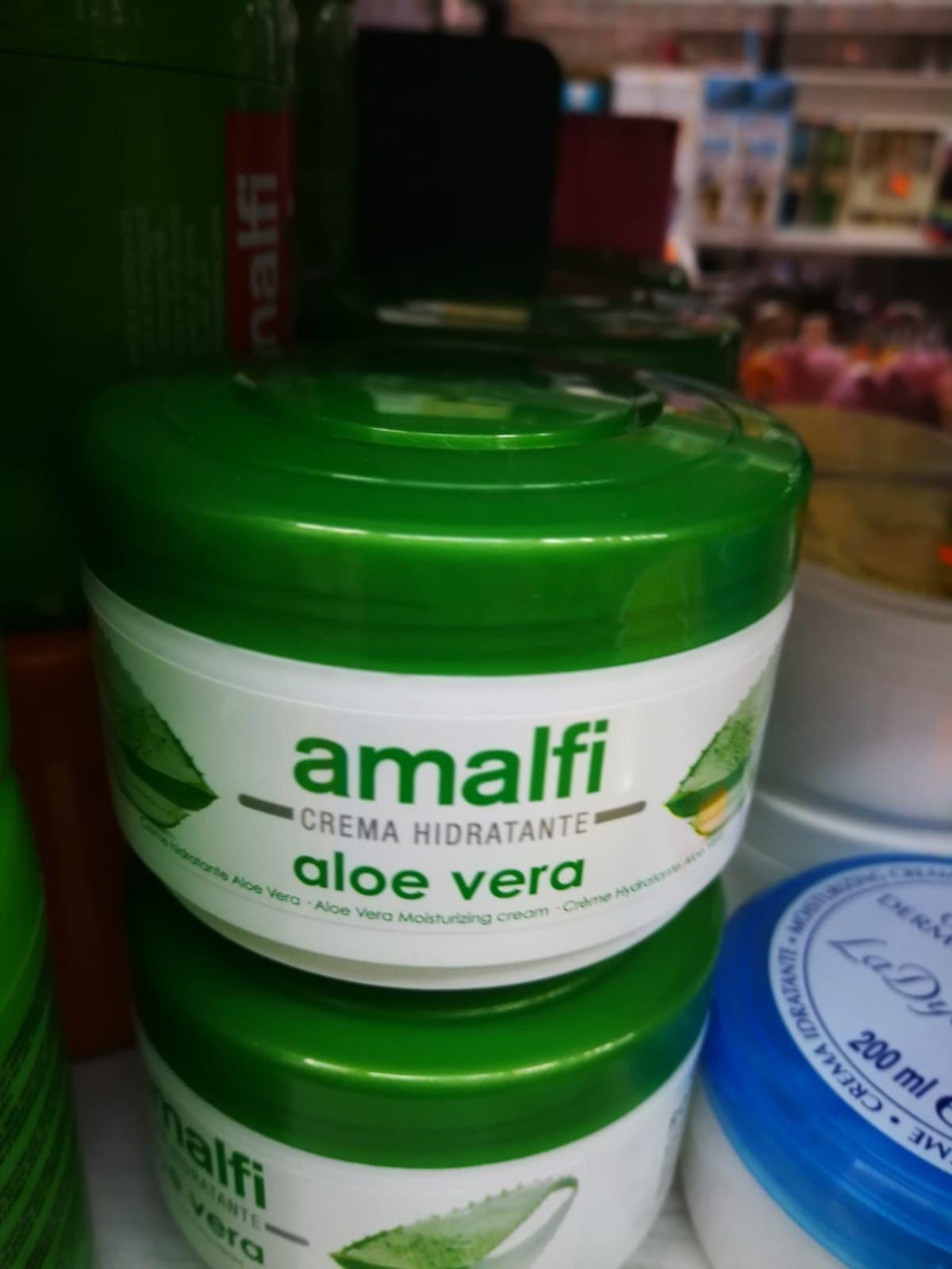 Crema hidratante de aloe vera