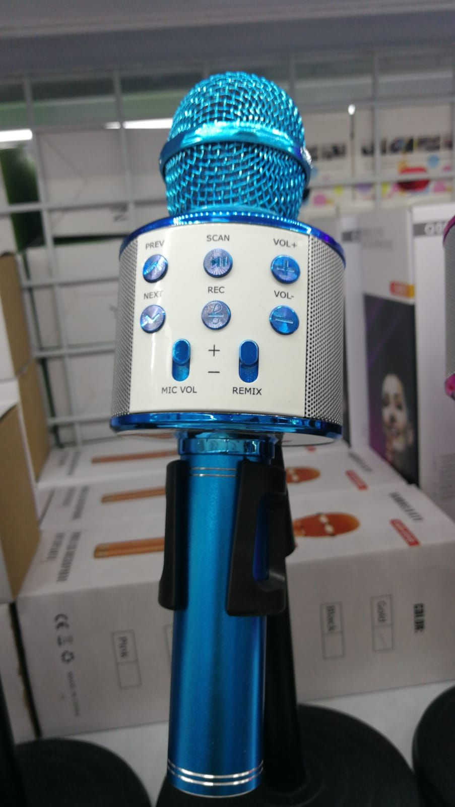 Micrófono para fiestas en Segovia