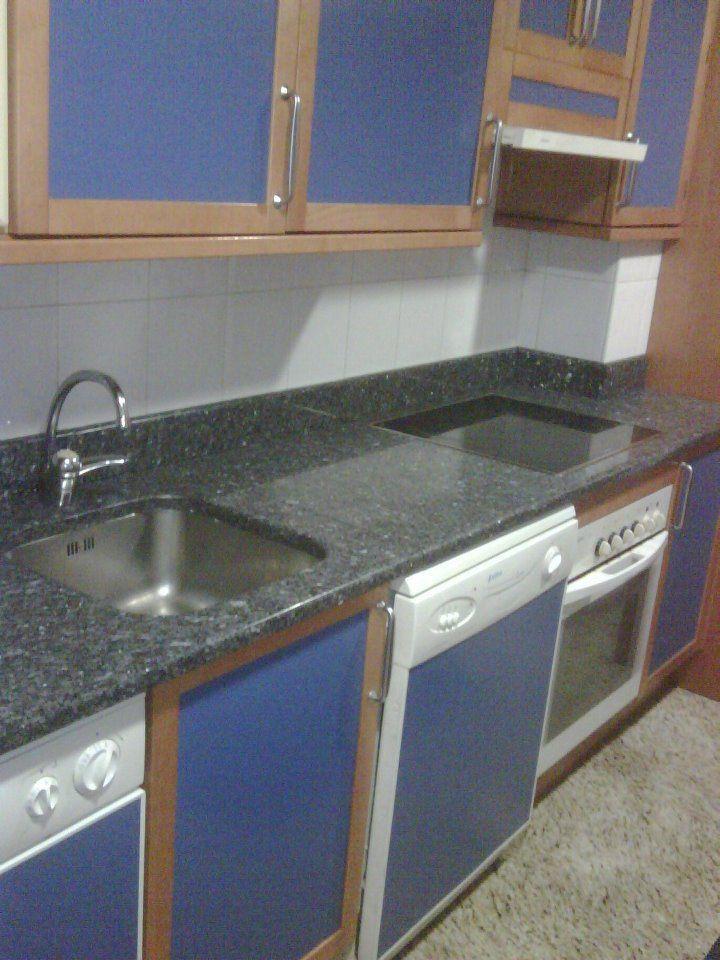 Precios encimeras de cocina simple encimera de cocina for Encimera cocina granito precio