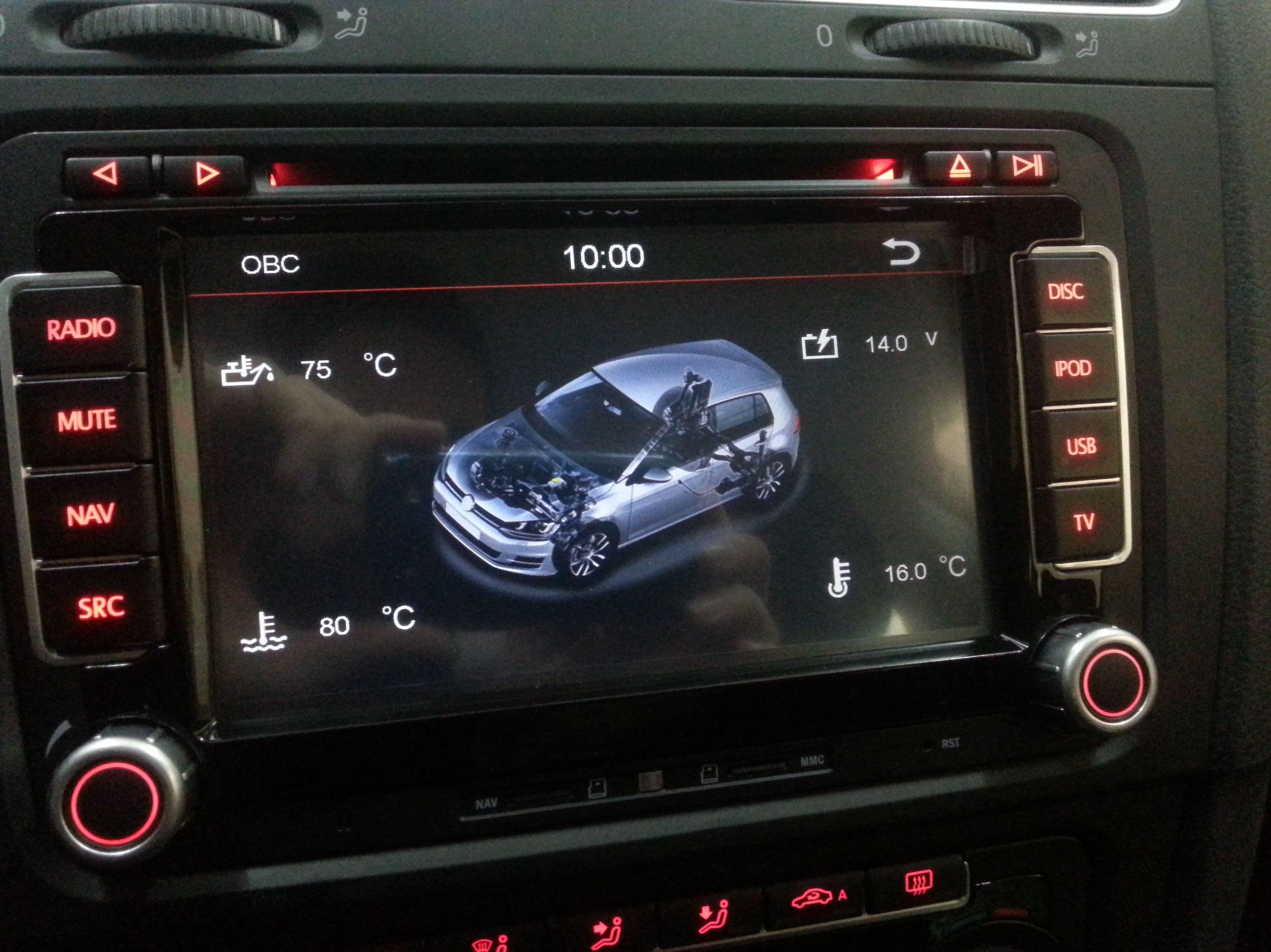 Dynavin VW Golf VI