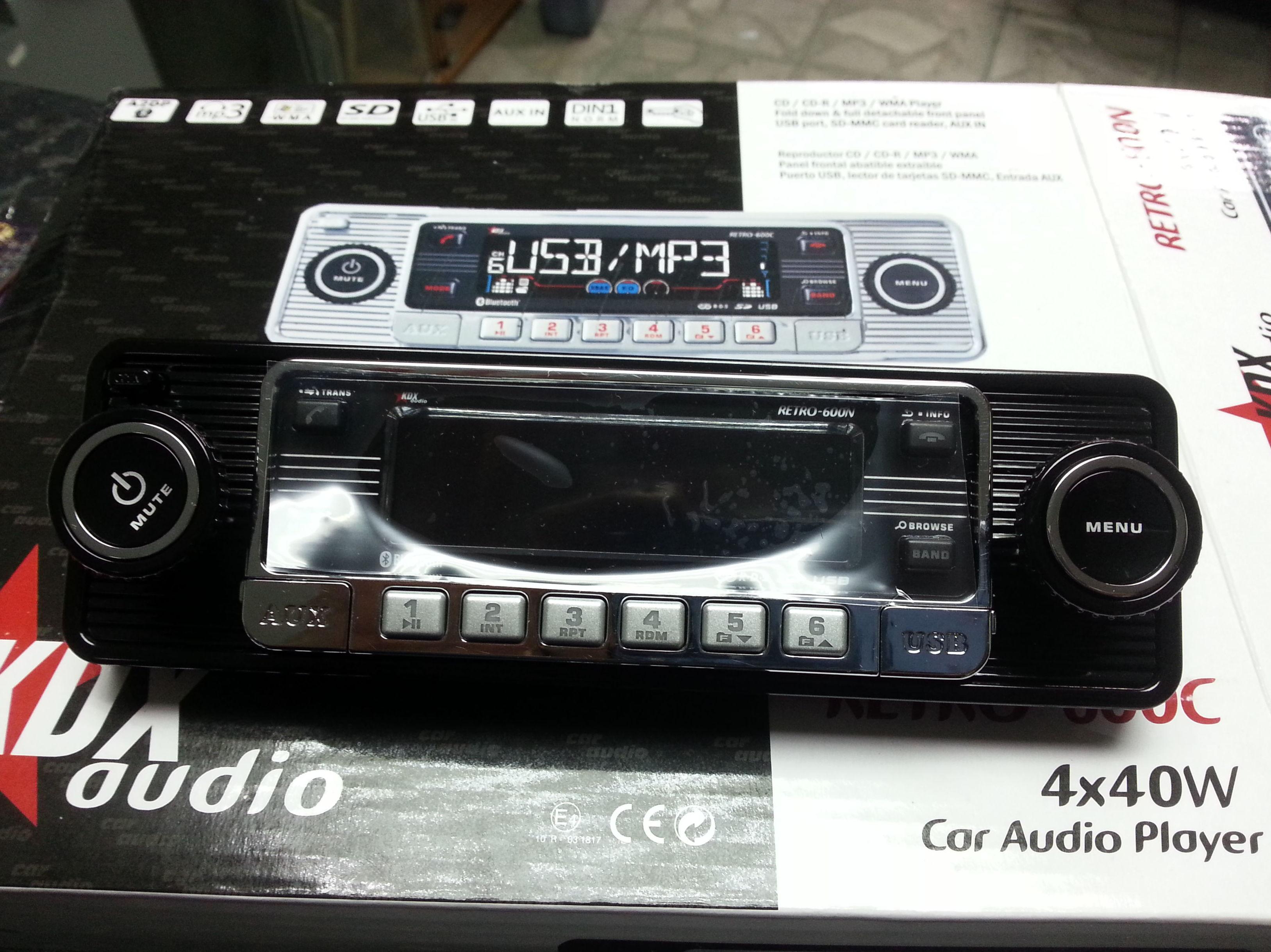 Radio fomato clasico, con todos los adelantos tecnologicos