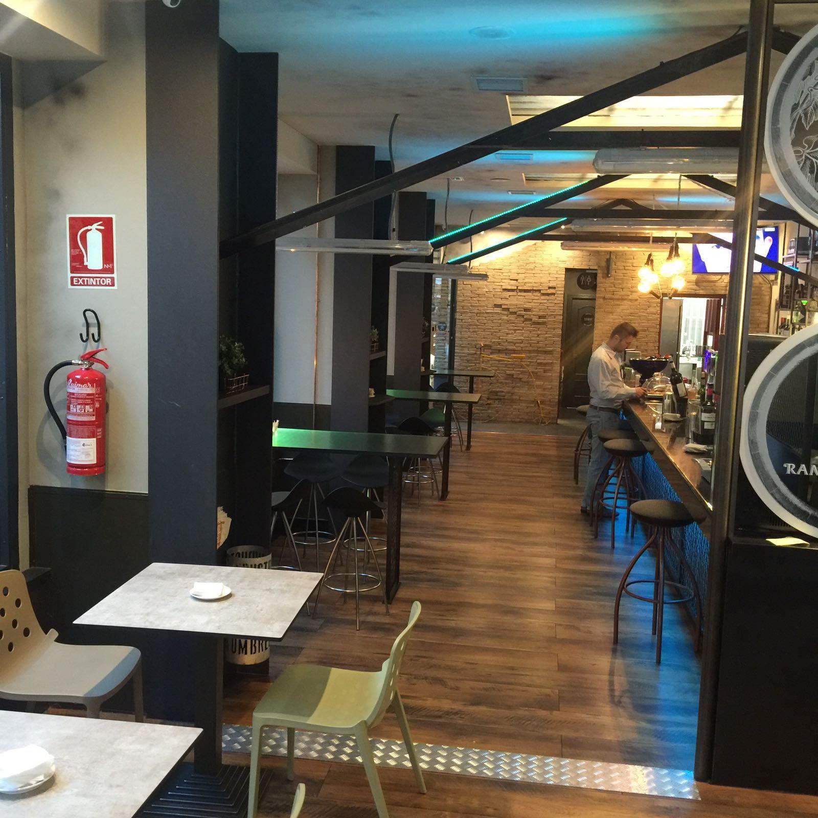 Bar de tapas en Arganzuela