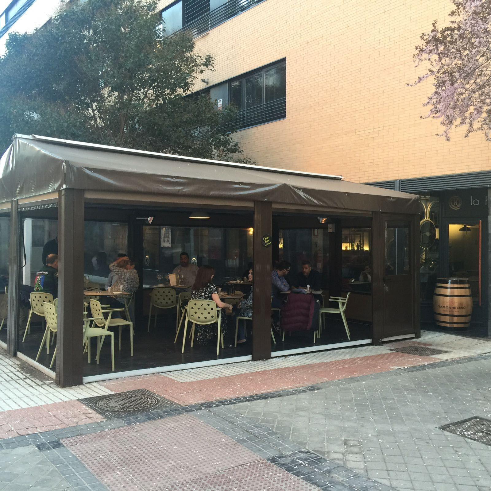 Restaurante con terraza en Arganzuela
